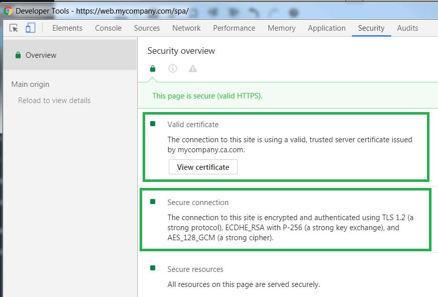 SSL Trust Configuration – OAuth 2 0 Architecture Guidance
