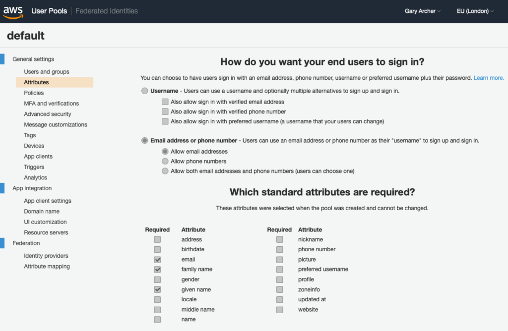 Cognito Authorization Server Setup – OAuth 2 0 Architecture